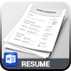 Resume Template - GraphicRiver Item for Sale