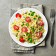 plate of pasta with cheese and vegetables - PhotoDune Item for Sale