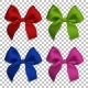Realistic Bows and Ribbon Isolated - GraphicRiver Item for Sale