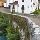 Traditional village in Asturias with stone bridge, Cangas Narcea. Spain - PhotoDune Item for Sale