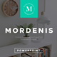 Mordenis Multipurpose PowerPoint Template - GraphicRiver Item for Sale