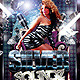 Silver Soundz Flyer - GraphicRiver Item for Sale