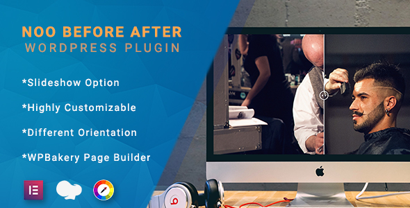 Noo Before After - Ultimate Before After Plugin for WordPress            Nulled