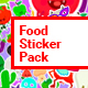 Food Sticker Pack/ Emoji/ Stories/ Restaurant/ Mask/ Snapchat/ App/ IGTV/ Tracking/ AE Face Tools - VideoHive Item for Sale