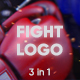 Fight Logo - 3 in 1 - VideoHive Item for Sale