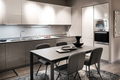 Monochrome grey and white kitchen interior - PhotoDune Item for Sale