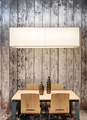 Modern wooden dining table and chairs - PhotoDune Item for Sale