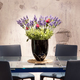 Dining table with floral centerpiece - PhotoDune Item for Sale