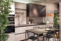Stylish modern fitted kitchen and dining area - PhotoDune Item for Sale