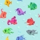 Seamless Fish Pattern - GraphicRiver Item for Sale