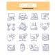 Computing Doodle Icons - GraphicRiver Item for Sale