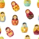 Russian Nesting Doll, Traditional Wooden Souvenir - GraphicRiver Item for Sale