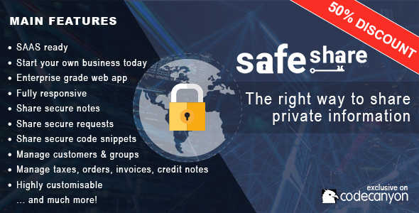 SafeShare - The right way to share private information