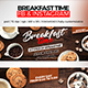 Breakfast Time Facebook Cover and Instagram - GraphicRiver Item for Sale