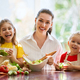 Happy family in the kitchen - PhotoDune Item for Sale