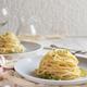 Spaghetti with thyme, garlic and olive oil - PhotoDune Item for Sale