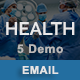 Health - Multipurpose Responsive Email Templates - ThemeForest Item for Sale