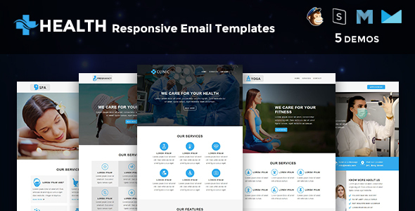 Health - Multipurpose Responsive Email Templates - Newsletters Email Templates