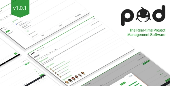 Pod : Real-time Project Management Software - CodeCanyon Item for Sale