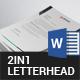 Letterhead Bundle - 2in1 - GraphicRiver Item for Sale