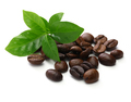 roasted coffee beans and leaves - PhotoDune Item for Sale