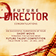 Director Certificate - GraphicRiver Item for Sale