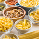 Various types of italian pasta. - PhotoDune Item for Sale