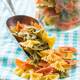 Farfalle pasta. Colorful italian pasta. - PhotoDune Item for Sale