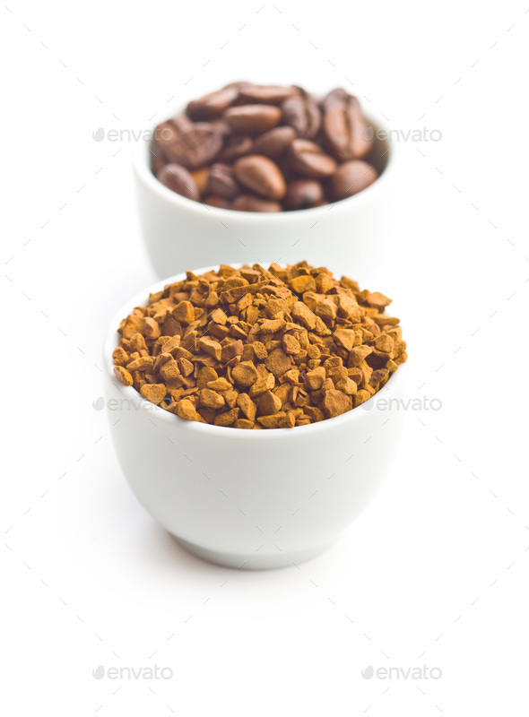 The instant coffee. - Stock Photo - Images