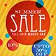 Summer Sale 3 Flyer - GraphicRiver Item for Sale