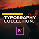 Animated Typography Pack for Premiere Pro - VideoHive Item for Sale
