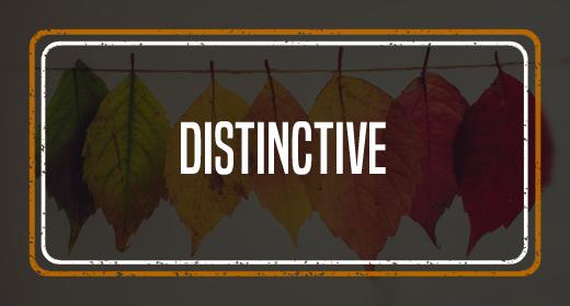 Distinctive