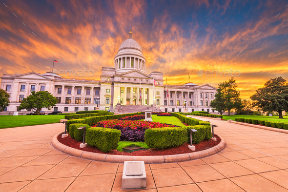 Arkansas State Capitol Building - Stock Photo - Images
