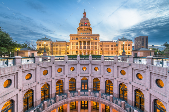 Austin, Texas, USA State Capitol - Stock Photo - Images