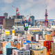 Sapporo, Japan Skyline - PhotoDune Item for Sale