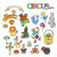Circus Stickers - GraphicRiver Item for Sale
