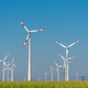 Wind energy generators on a sunny day - PhotoDune Item for Sale