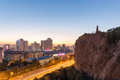 beautiful urumqi cityscape in sunset - PhotoDune Item for Sale
