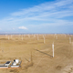 aerial view of wind farms, xinjiang, China - PhotoDune Item for Sale