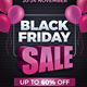 Black Friday Flyer and Banner - GraphicRiver Item for Sale