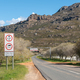 Warning signs at the start of the Bains Kloof Pass - PhotoDune Item for Sale