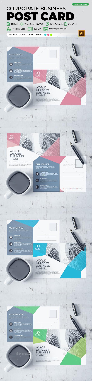 Post Card Design - Cards & Invites Print Templates