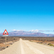 Road R356 to Ceres. Snow is visible on Matroosberg - PhotoDune Item for Sale