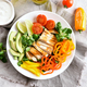 Vegetable salad with grilled chicken breast - PhotoDune Item for Sale