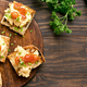 Scrambled eggs on toasted bread - PhotoDune Item for Sale