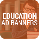 Higher Education Ad Banners - CodeCanyon Item for Sale