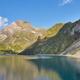 Llauset lake in Aragon. Hydroelectric energy power. Trekking route. Spain - PhotoDune Item for Sale