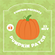 Pumpkin Patch Flyer Set - GraphicRiver Item for Sale
