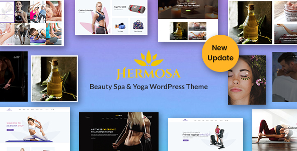 Hermosa - Health Beauty & Yoga WordPress Theme