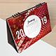 Unique Desk Calendar 2019 - GraphicRiver Item for Sale